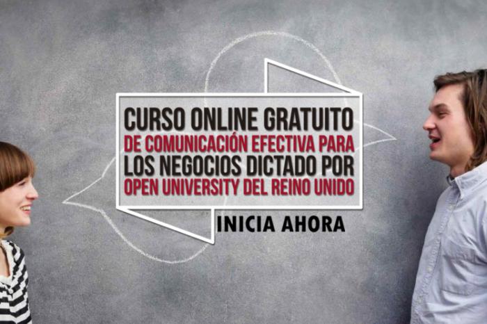 """Curso Online Gratis """"Fundamentos de la Comunicación Efectiva"""" Open University Reino Unido"""