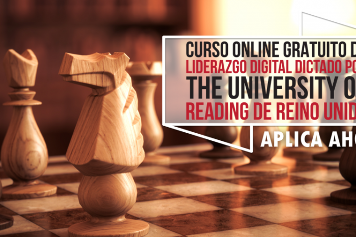 "Curso Online Gratis ""Liderazgo Digital"" The University of Reading Reino Unido"