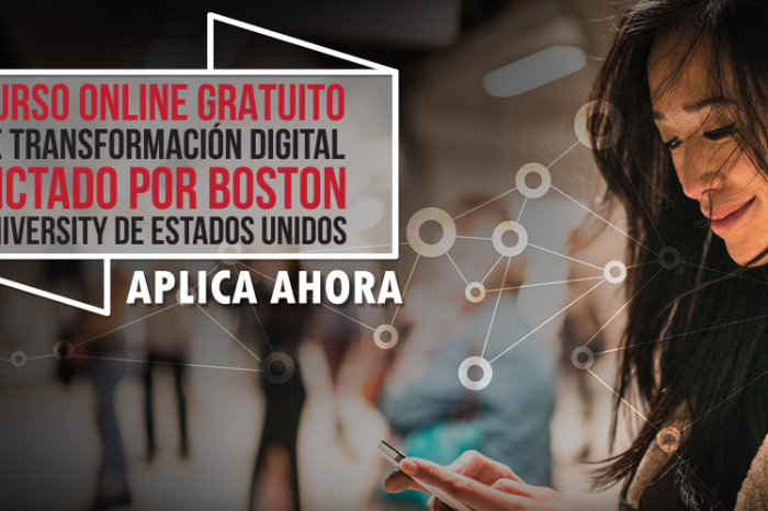 "Curso Online Gratis ""Transformación Digital"" Boston University Estados Unidos"